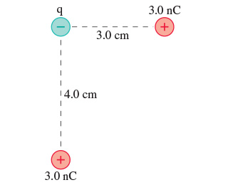 What is the electric potential energy of the group